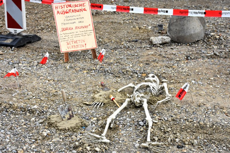 Freinacht Skelett